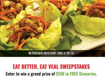 Eat Better Eat Veal Sweepstakes