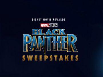 Disney Movie Rewards Black Panther Sweepstakes