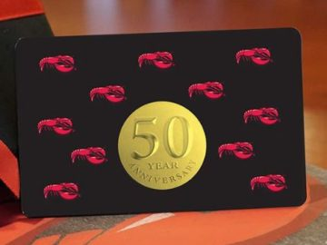 Red Lobster 50th Anniversary Gold Card Sweepstakes