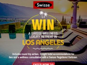Swisse Wellness Luxury Retreat Sweepstakes