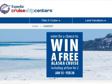 "CruiseShipCenters ""Sea The World"" Sweepstakes"