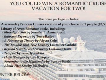 Avon x Princess Cruises Valentine's Day Sweepstakes