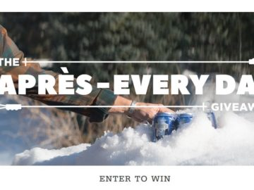 Toad&Co Après-Every Day Sweepstakes