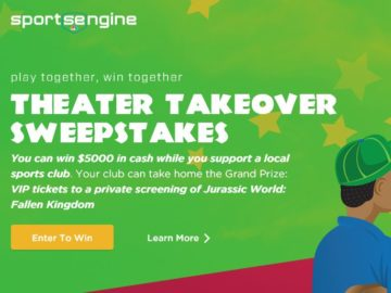 SportsEngine Play Together, Win Together Sweepstakes