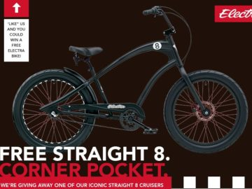 Win a Straight 8 Cruiser Bicycle