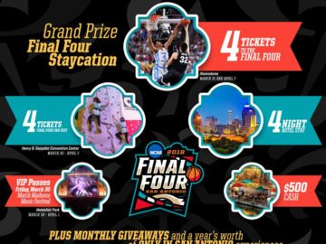 Only in San Antonio Final Four Sweepstakes