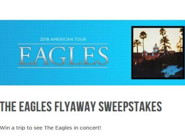 F.Y.E.'S The Eagles Flyaway Sweepstakes