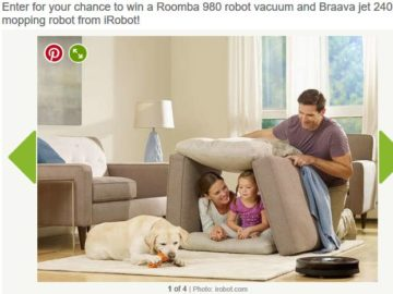 Bob Vila's $4,000 Clean Home Giveaway Sweepstakes