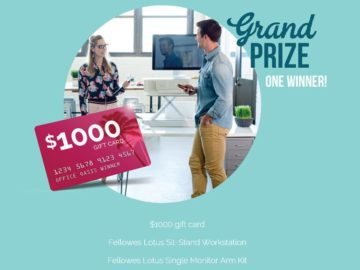Fellowes The Office Oasis Sweepstakes