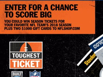 Ford NFL Toughest Ticket Season Ticket Giveaway Sweepstakes