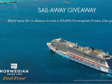Cruise Critic Sail-Away Giveaway Sweepstakes
