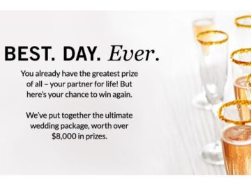 """Pottery Barn """"The Best Day Ever"""" Sweepstakes"""