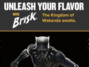 Brisk Black Panther Instant Win Sweepstakes