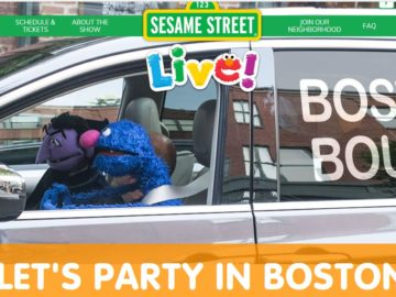 Sesame Street Live Let's Party in Boston Sweepstakes