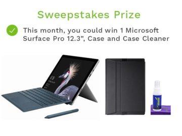 Win a Microsoft Surface Pro