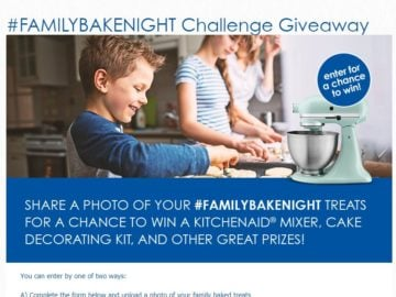 Domino Sugar and C&H Sugar #FamilyBakeNight Challenge Giveaway Sweepstakes