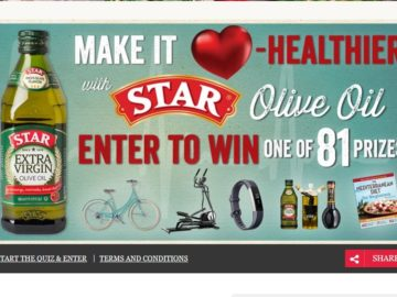 STAR Fine Foods Heart Healthy Instant Win Sweepstakes