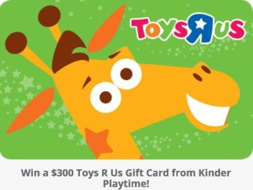 Win a $300 Toys R Us Gift Card