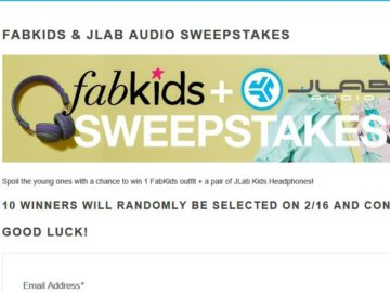 Win a FabKids outfit and a Pair of JLab Kids Headphones