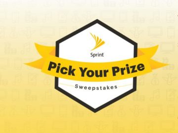Sprint Pick Your Prize Sweepstakes (Sprint Customers Only)