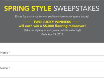 Win a $5,000 Lumber Liquidators Store Credit