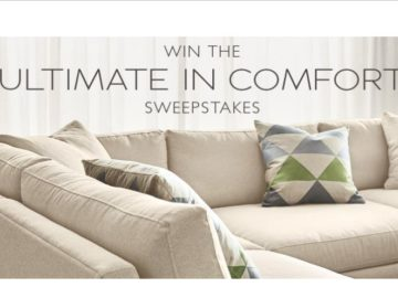 Win either a Linger sofa or Linger sectional configuration