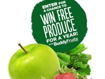Win a Year Supply of Produce (awarded as $2,600 Cash)!