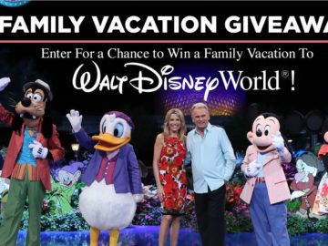 Wheel of Fortune Family Vacation Giveaway II Sweepstakes (Code)