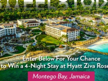 Playa Resorts Jamaica Me Happy Sweepstakes