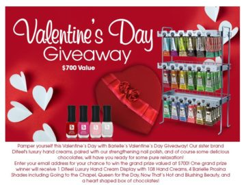 Barielle's Valentine's Day Giveaway Sweepstakes
