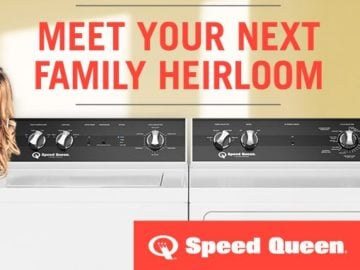 Speed Queen Washer & Dryer February Giveaway Sweepstakes