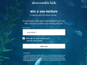 Abercrombie Kids Sea-Venture Sweepstakes