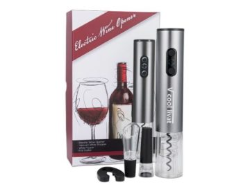 Win a Electric Wine Bottle Opener Set