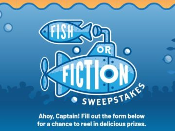 "Culver's ""Fish or Fiction"" Sweepstakes (Limited States)"