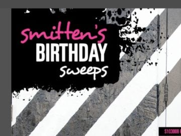 "Smitten Scrubs ""Smitten Birthday"" Sweepstakes"