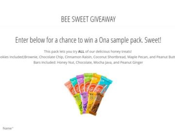 Bee Sweet Giveaway Sweepstakes