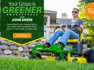 Better Homes and Gardens Your Grass is Greener Sweepstakes