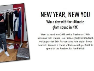 Reebok New Year New You Sweepstakes