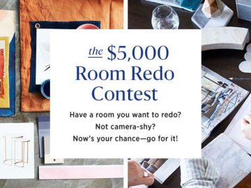 Win a $5,000 West Elm Gift Card