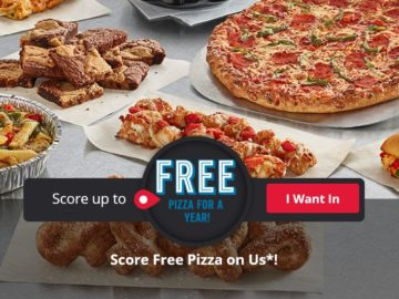 Win Five $100 Domino's Gift Cards