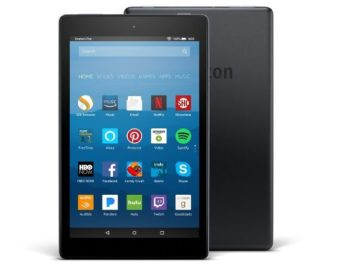 Win an Amazon Fire HD 8 Tablet with Alexa