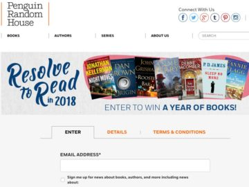 Win a Year of Free Books!
