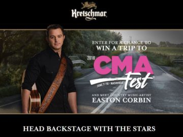 Kretschmar Country 2018 – CMA Fest Sweepstakes and Instant Win Game