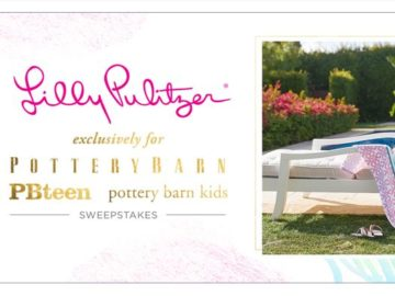 Lilly Pulitzer & Pottery Barn Sweepstakes