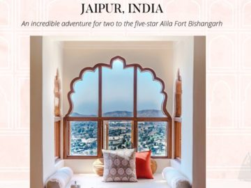 The Zoe Report Jaipur, India Giveaway Sweepstakes