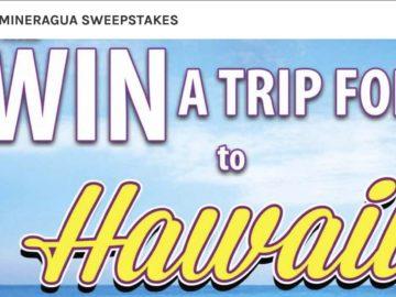Novamex Mineragua Hawaii Trip Sweepstakes