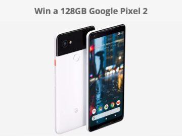 Win a 128GB Google Pixel 2