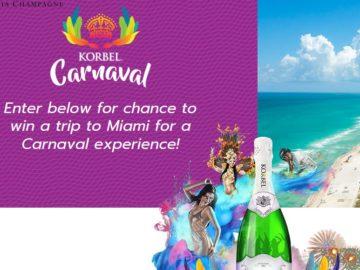 """KORBEL """"Carnaval"""" Sweepstakes"""