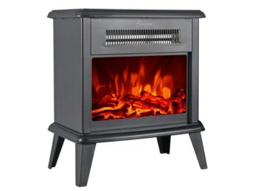 "INSTANTLY WIN a HollyHOME 17"" Free Standing Electric Fireplace"