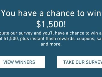 Shoppers Voice – Enter to Win $1,500!